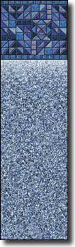 Blue Tattersall Tile Sparkle